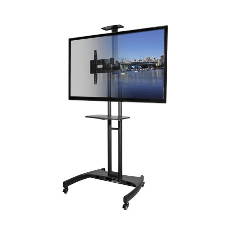 flat-screen-tv-cart-mobile-tv-stand-front-view