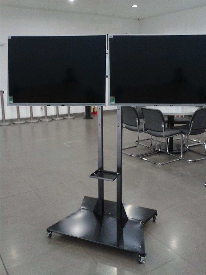 Giá - kệ tivi di động treo 2 màn hình
