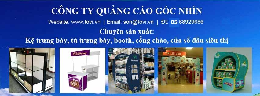 Công ty sản xuất booth quảng cáo