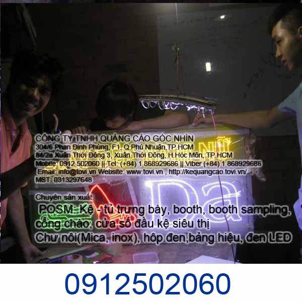Công ty Quảng Cáo nào làm LED giá rẻ ở Hóc Môn