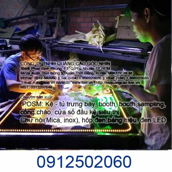 LED quảng cáo Hóc Môn